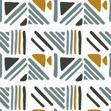 Seamless hand draw Folk pattern. weave lines ornament. Backdrop for textile or book covers, wallpapers, design, graphic art, wrapping. Vector illustration vector illustration