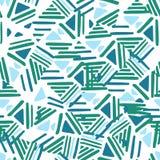 Seamless hand draw Folk pattern. weave lines ornament. Seamless hand draw Folk pattern. Chaotic Weave lines ornament. Backdrop for textile or book covers stock illustration