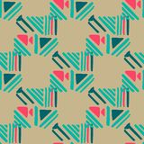 Seamless hand draw Folk pattern. weave lines ornament. Backdrop for textile or book covers, wallpapers, design, graphic art, wrapping. Vector illustration royalty free illustration