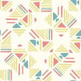 Seamless hand draw Folk pattern. weave lines ornament. Weave lines ornament. Folk seamless pattern on white background. Backdrop for textile or book covers vector illustration