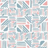 Seamless hand draw Folk pattern. weave lines ornament. Weave lines ornament. Seamless hand draw Folk pattern on white background. Backdrop for textile or book royalty free illustration