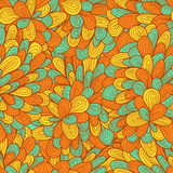 Seamless hand drawn abstract pattern Royalty Free Stock Image