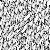 Seamless hand drawn abstract seamless pattern Stock Photo