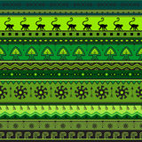 Seamless hand-drawn ethnic pattern. Tribal seamless geometric striped background. It can be used for wallpaper, web page, bags and Stock Photo