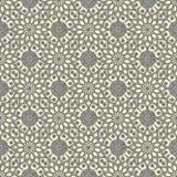 Seamless hand drawn mandala pattern. Vintage elements in orienta Stock Photography
