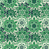 Seamless hand drawn mandala pattern. Vintage elements in orienta Stock Photo