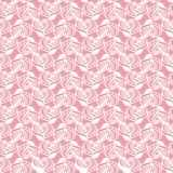 Seamless hand-drawn pattern. Consists of doodles. Vector illustration Stock Photography