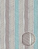 Seamless hand drawn pattern Stock Image