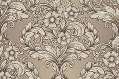 Seamless hand drawn pattern Royalty Free Stock Photos