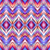 Seamless handmade geometric pattern. Stock Photography