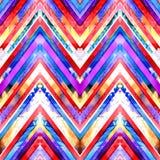 Seamless handmade geometric pattern. Royalty Free Stock Photography