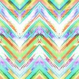 Seamless handmade geometric pattern. Stock Images