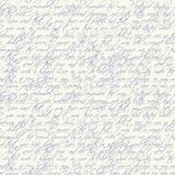Seamless  handwritten text Royalty Free Stock Photos