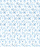 Seamless Hanging Winter Snow Flakes Background Pattern Royalty Free Stock Photo