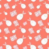 Seamless happy easter egg pattern Stock Photography