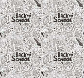 Seamless happy kids pattern Royalty Free Stock Photos