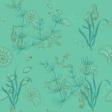 Seamless hav Arkivbilder