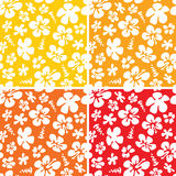 Seamless Hawaiian Pattern Royalty Free Stock Photo