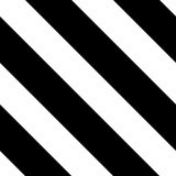Seamless Hazard Stripes Stock Photo