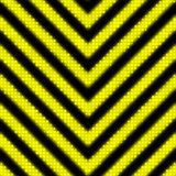 Seamless Hazard Stripes Royalty Free Stock Photos