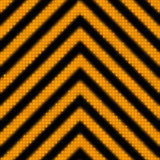 Seamless Hazard Stripes Royalty Free Stock Photo
