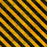 Seamless hazard warning background Royalty Free Stock Photo