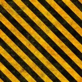Seamless hazard warning background Royalty Free Stock Photo