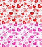 Seamless Heart Royalty Free Stock Photography