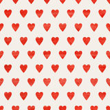 Seamless heart background Royalty Free Stock Image