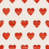 Seamless heart background Royalty Free Stock Photography