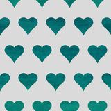 Seamless heart background Stock Photography