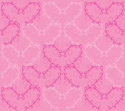Seamless heart pattern Stock Images