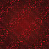 Seamless heart pattern Stock Image
