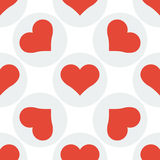 Seamless heart pattern background Royalty Free Stock Image