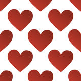 Seamless heart pattern background Stock Photos