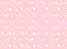 Seamless heart pattern background. Full and outline hearts for V royalty free illustration