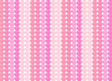 Seamless heart pattern background. Full and outline hearts for V stock illustration