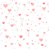Seamless heart pattern background Royalty Free Stock Photo