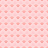Seamless heart pattern,  illustration. Seamless pattern with hearts,  illustration Royalty Free Stock Photography