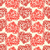 Seamless heart pattern. Valentines day background royalty free illustration