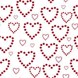 Seamless heart pattern Royalty Free Stock Image