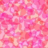 Seamless heart texture Stock Images