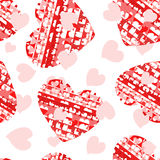 Seamless hearts. Royalty Free Stock Photography