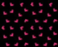 Seamless hearts background Royalty Free Stock Photography