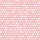 Seamless hearts background Royalty Free Stock Photos