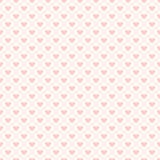 Seamless hearts background Stock Images
