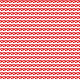 Seamless hearts pattern Stock Image