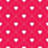Seamless hearts pattern Royalty Free Stock Photos