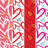 Seamless Hearts Pattern. vector illustration