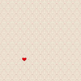 Seamless hearts pattern Stock Photos